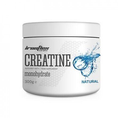 Креатин моногидрат, IronFlex Creatine Monohydrate 300 грамм, Лимон