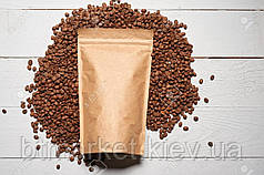 Пакет дой-пак 100х170 (крафт / металл) / 100шт