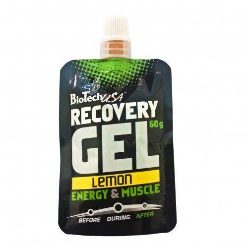 Угливоды, BioTech USA Recovery Gel 60 грамм, Лимон