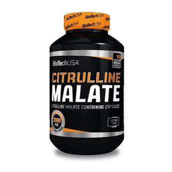 Цитрулин, BioTech USA Citrulline Malate 90 капсул