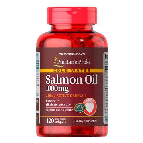 Puritan's Pride Omega-3 Salmon Oil 1000 mg 120 капсул