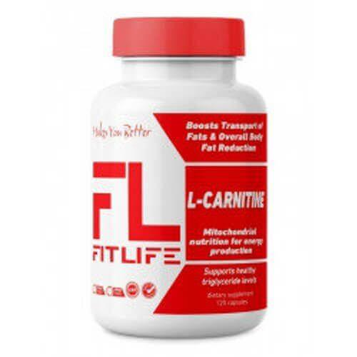 Жиросжигатель, FitLife L-Carnitine 120 капсул