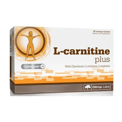 Жиросжигатель, Olimp L-Carnitine Plus 80 таб