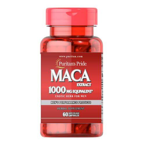 Повышение тестостерона, Puritan's Pride Maca 1000 mg Exotic Herb for Men 60