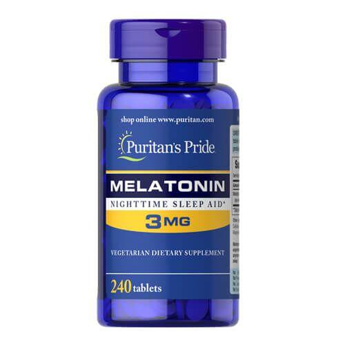 Puritan's Pride Melatonin 3 mg 240 таб