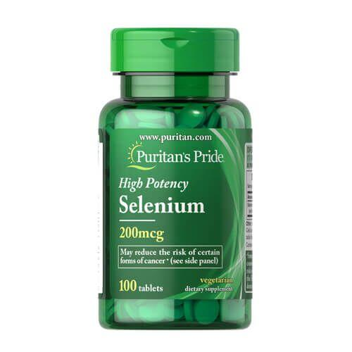 Puritan's Pride Selenium 200 mcg 100 таб