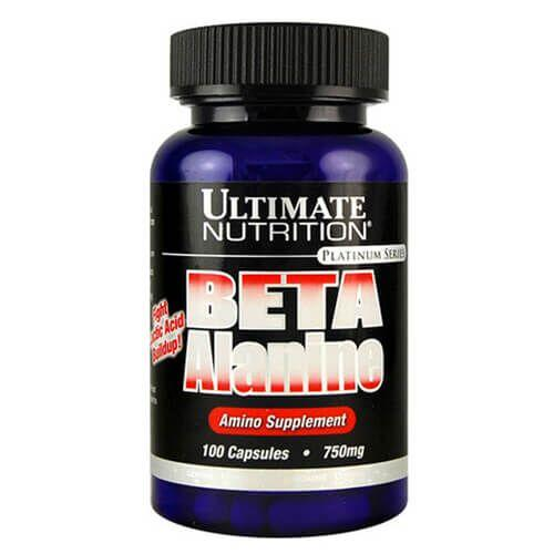 Ultimate Nutrition Beta Alanine 100 капсул