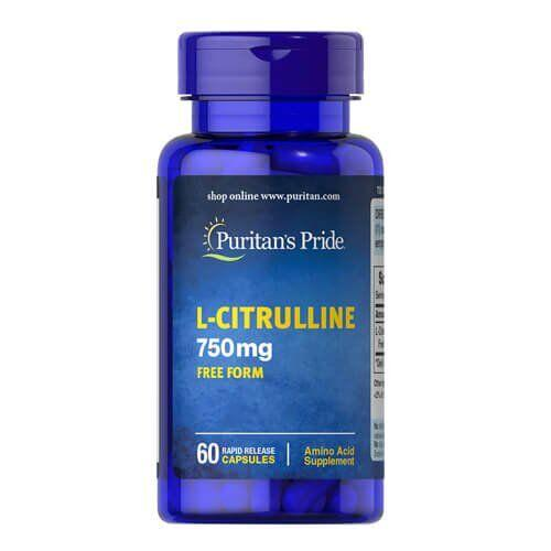 Puritan's Pride L-Citrulline 60 капсул