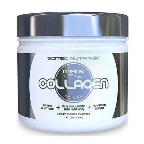 Scitec Collagen Powder 300 грамм, Фруктовый пунш