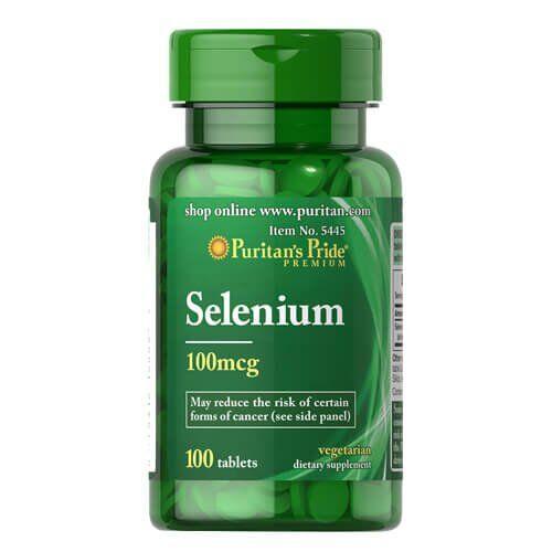 Puritan's Pride Selenium 100 mcg 100 таб