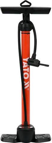 Ручной поршневой насос с манометром YATO YT-73521, фото 2