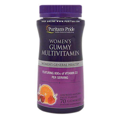 Витаминно-минеральный комплекс, Puritan's Pride Women's Gummy Multivitamin 70 gummies
