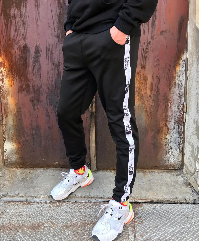 Cпортивные штаны TNF черные(только L)