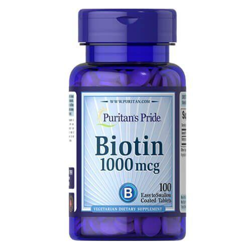 Puritan's Pride Biotin 1000 mcg 100 таб