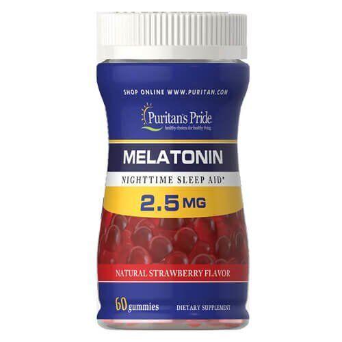 Puritan's Pride Melatonin Gummy 2.5 mg 60 таб
