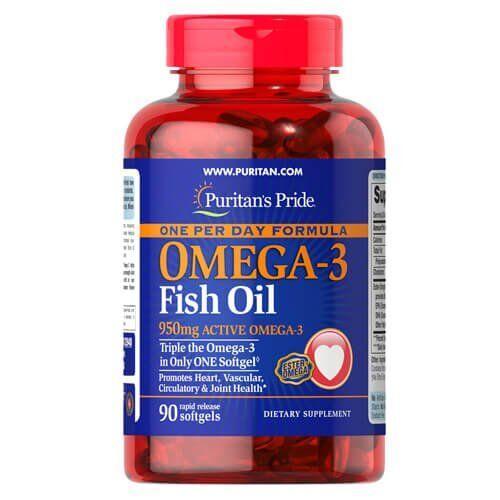 Puritan'sPrideOne Per DayOmega-3 Fish Oil 1360 mg 90 капсул