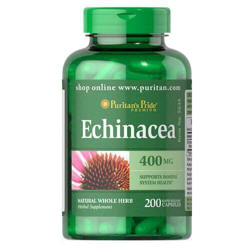 Puritan's Pride Echinacea 400 mg 200 капсул