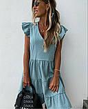 Женское платье летний сарафан в горох супер софт размеры: 50-52, 54-56, фото 5