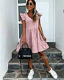 Женское платье летний сарафан в горох супер софт размеры: 50-52, 54-56, фото 2