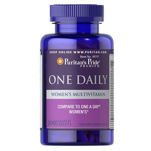 Puritan'sPride One DailyWomen's Multivitamin 200 таб
