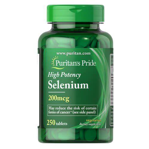 Puritan's Pride Selenium 200 mcg 250 таб