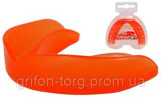 Капа боксерська  PowerPlay 3305 SR Оранжева