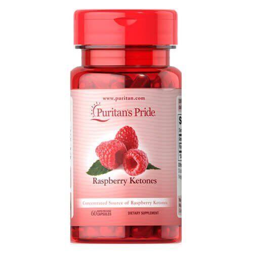 Puritan's Pride Raspberry Ketones 100 mg 60 капсул