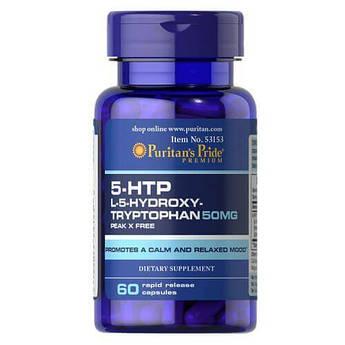 Puritan's Pride 5-HTP 50 mg 60 капсул