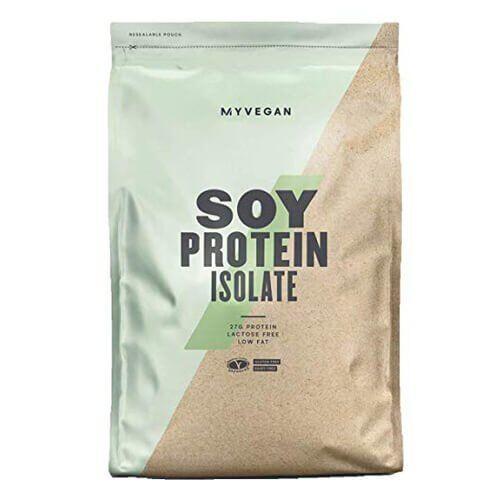 Протеин, Myprotein Soy Protein Isolate 1000 грамм, Клубника