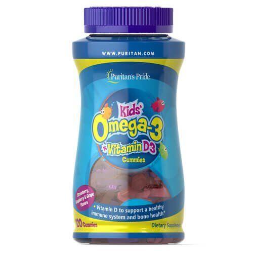 Puritan's Pride Children's Omega 3 120 gummies
