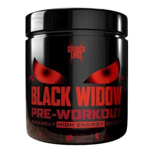 Предтренировочный комплекс, Spider Labz Black Widow 300 грамм, Кровавый удар