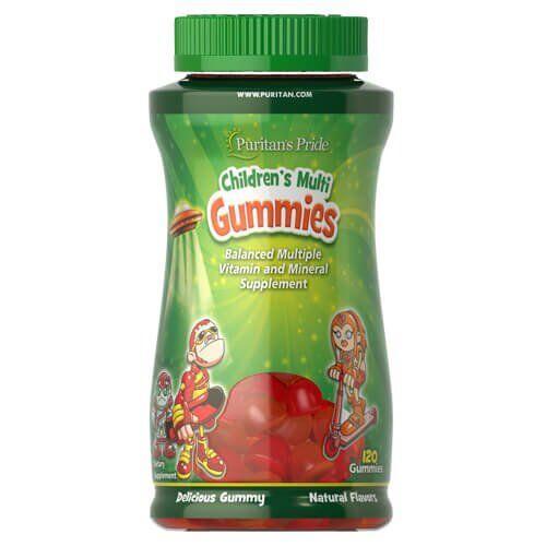 Puritan's Pride Children's Multivitamins & Minerals 120 Gummies