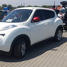 Дефлекторы окон (ветровики) клеющие / накладные  Nissan JUKE с 2010 -> 5D 4шт (ANV)  4 шт Anv