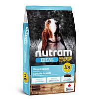 I18 Nutram Ideal 11,4кг - корм для  собак склонных к ожирению