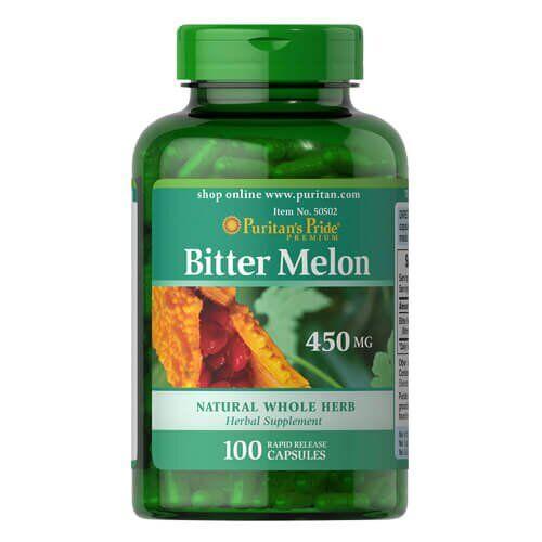 Puritan's Pride Bitter Melon 450 mg 100 капсул