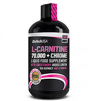 Biotech L-carnitine 70.000 mg + Chrome Liquid 500 ml