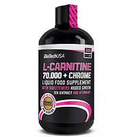 L-Карнетин Biotech L-carnitine 70.000 mg + Chrome Liquid 500 ml