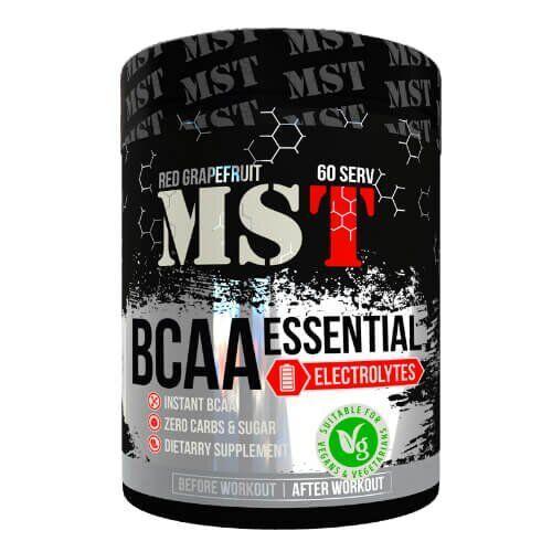 БЦАА МСТ, с цитрулином и витамином B6. MST BСAA Essential 480 грамм, Яблоко