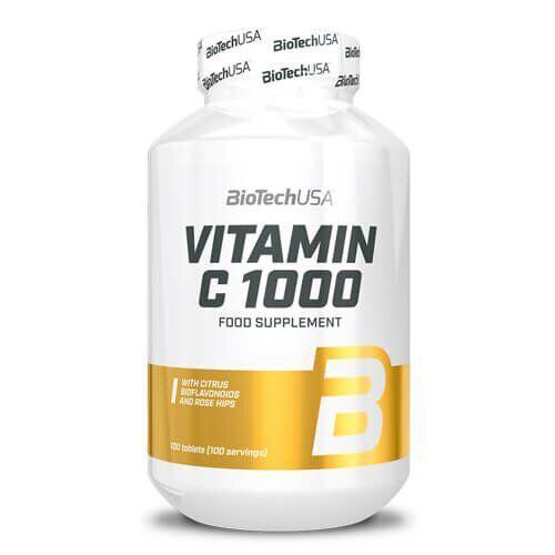 BioTech USA Vitamin C 1000 100 таб