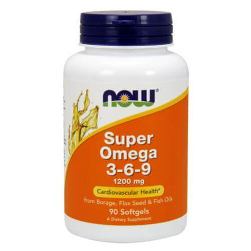 NOW SuperOmega 3-6-9 90 капсул