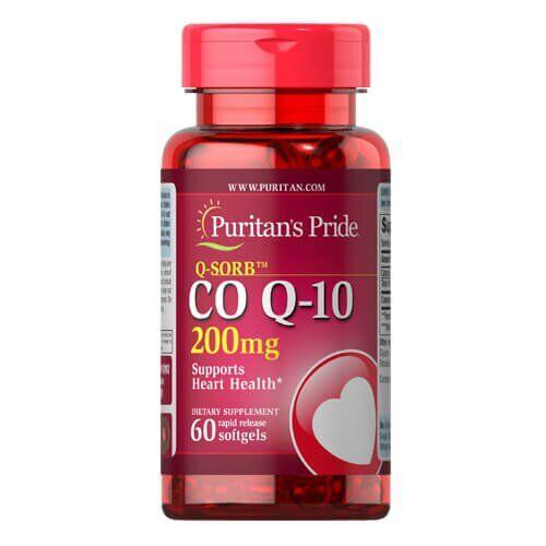 Puritan's Pride Co Q-10 200 mg 60 капсул