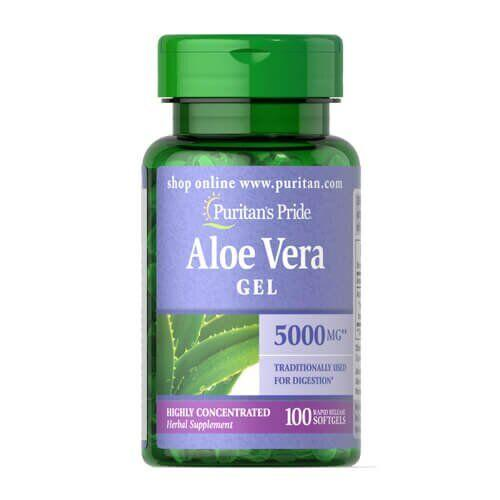 Puritan's Pride Aloe Vera Extract 25 mg 100 капсул