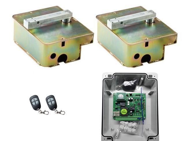 Segment SG UNG 400 — подземная автоматика для распашных ворот (створка до 3 м)