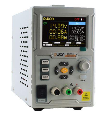 Лабораторний блок живлення Owon SP3051 30V 5A цифрова індикація