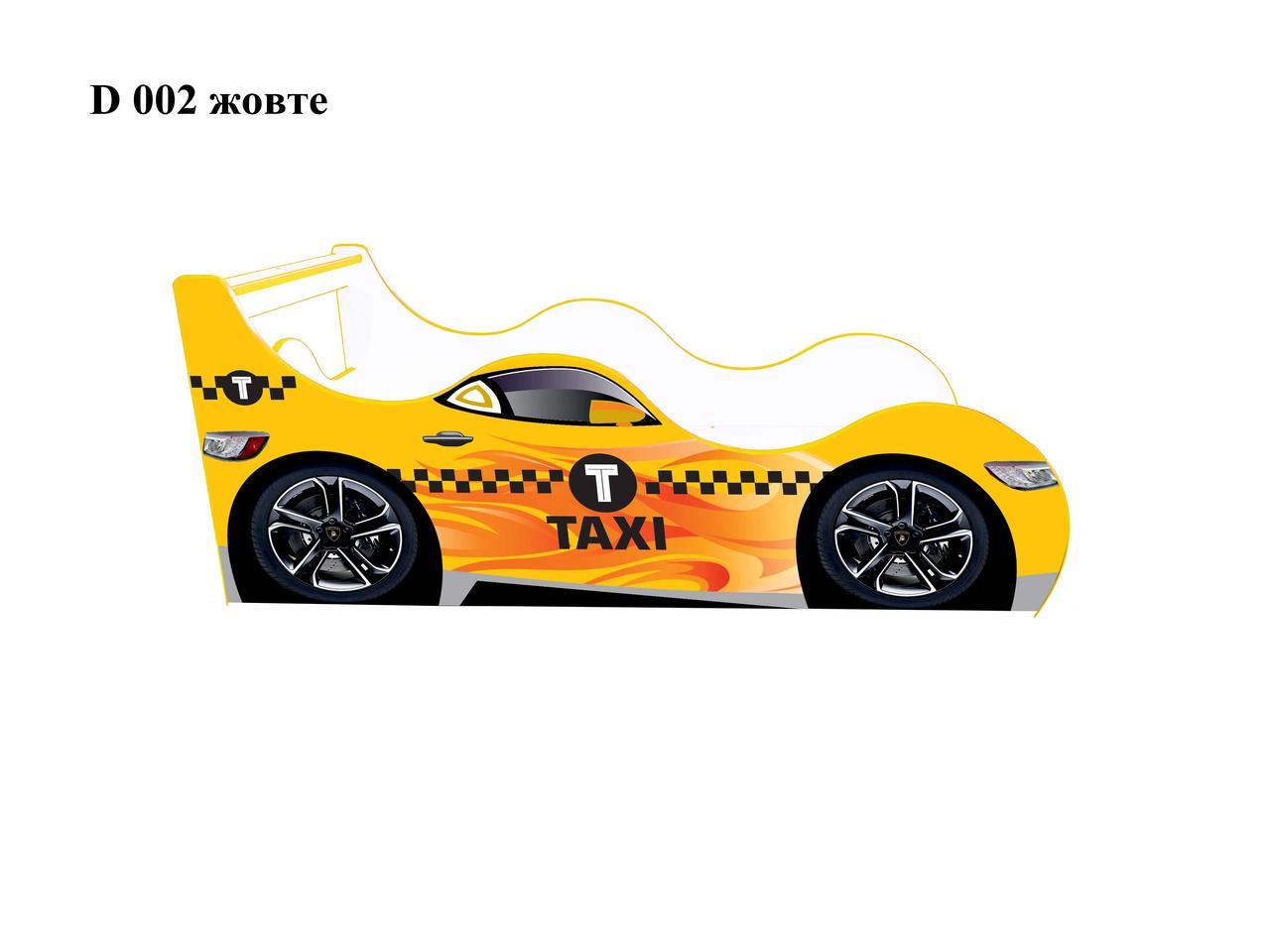 Кровать-машина Такси Д-0002 ( серия ДРАЙВ)