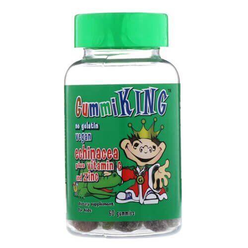 Gummi KingEchinacea Plus Vitamin C and Zinc 60 жевательных конфет