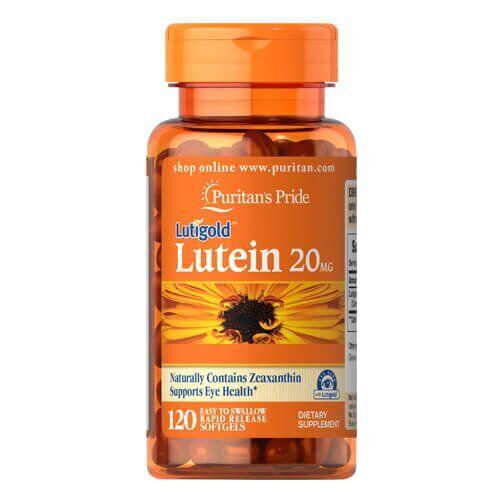 Puritan's Pride Lutein 20 mg with Zeaxanthin 120 капсул