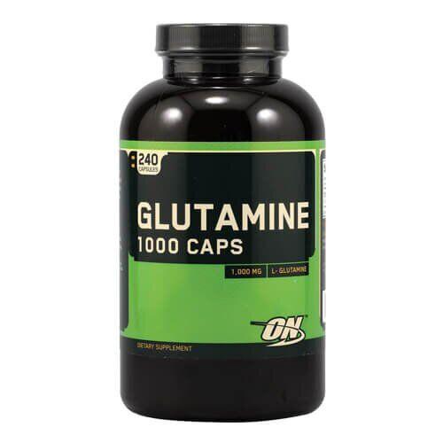 Optimum Nutrition L-Glutamine 1000 mg 240 капсул