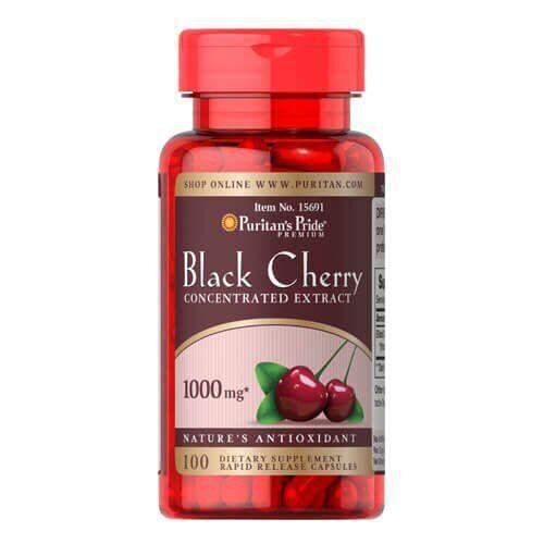 Puritan's PrideBlack Cherry Extract 1000 mg 100 капсул