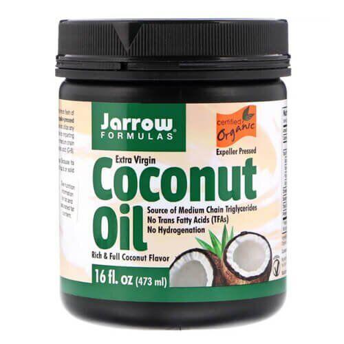 Jarrow Formulas Organic Extra Virgin Coconut Oil 473 грамма